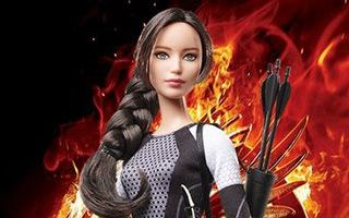 The Hunger Games: Catching Fire Katniss Doll 2013
