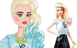 Barbie Fashionistas LA Girl Doll 2015