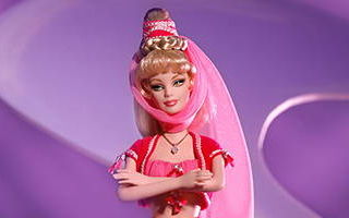 """Barbie as Jeannie From """"I Dream Of Jeannie"""" 2001"""