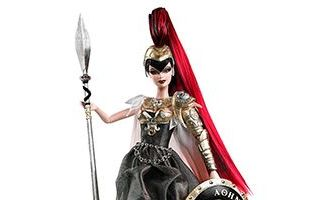 Barbie as Athena 2010