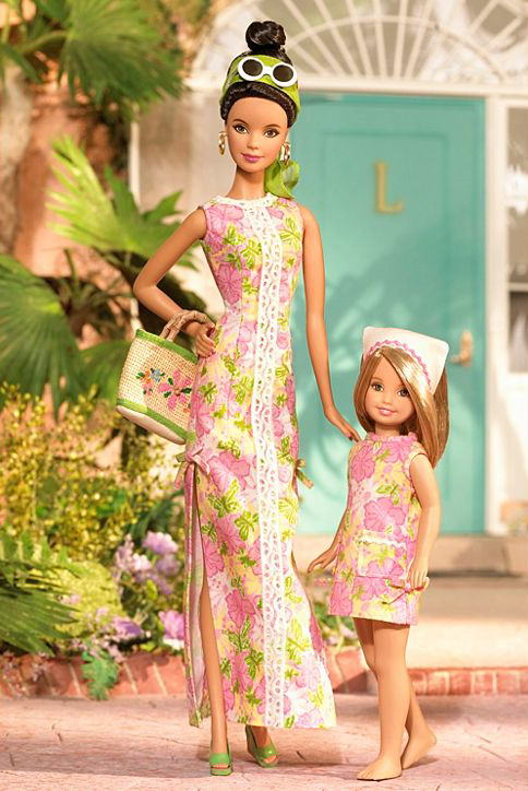 промо-фото Lilly Pulitzer Barbie and Stacie