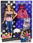 Barbie Fashionistas Everyday Chic in box