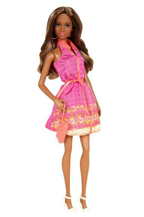 промо-фото Barbie Fashionistas Pink Halter Dress