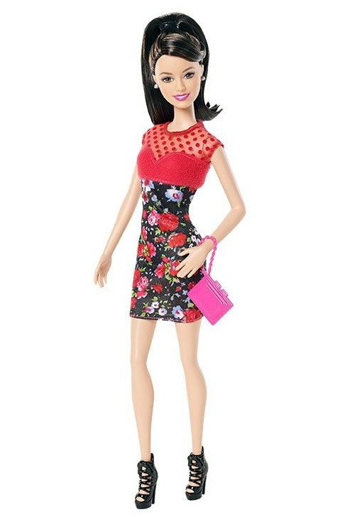 промо-фото Barbie Fashionistas Rose Print Dress