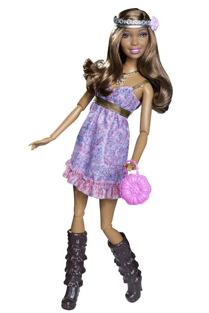 Barbie Fashionistas Swapin Styles Artsy Doll 2010