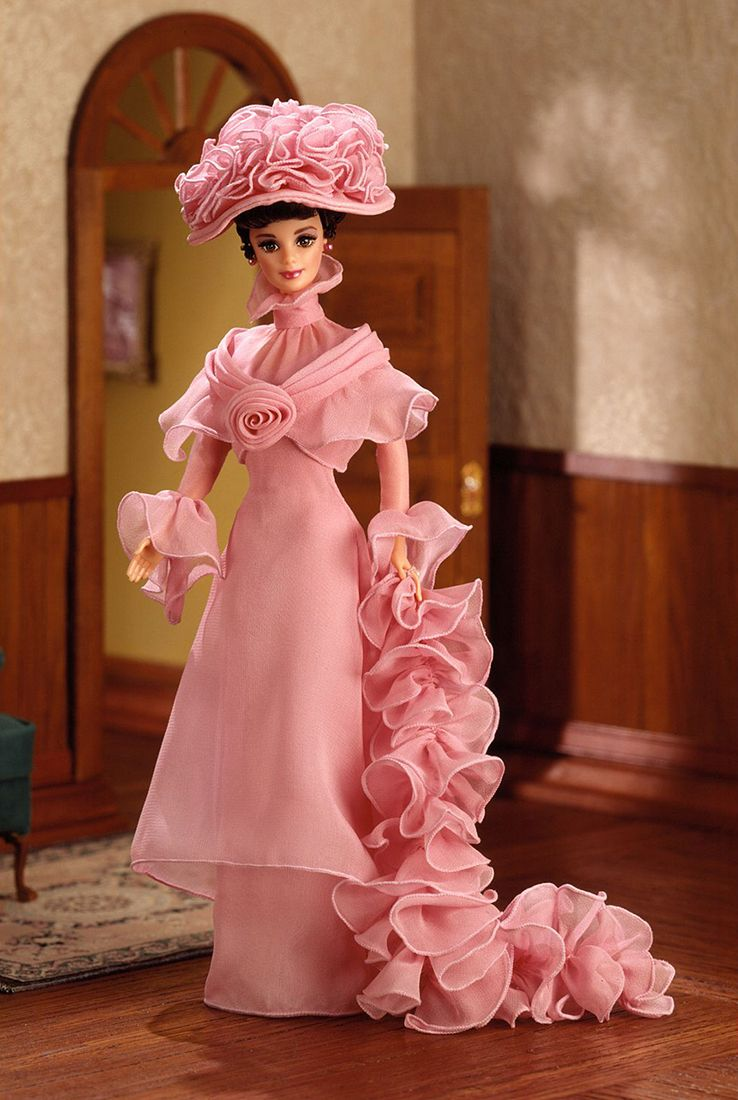 Barbie Doll as Eliza Doolittle from My Fair Lady in Her Closing Scene 1996