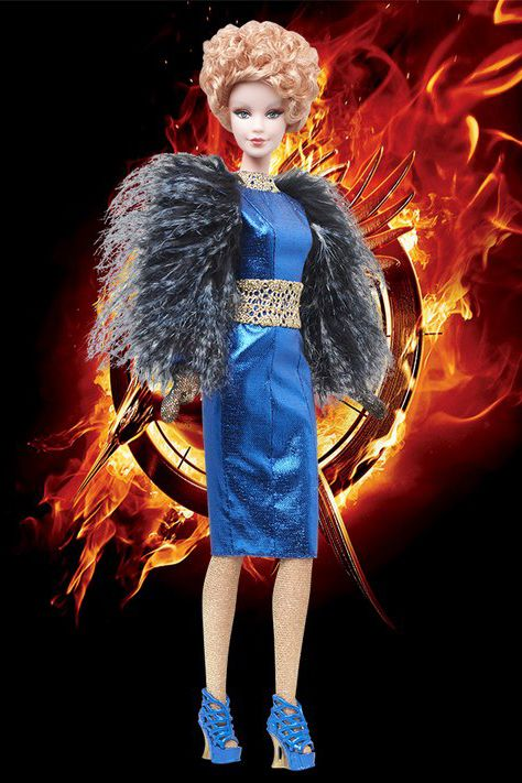 промо-фото The Hunger Games: Catching Fire Effie Doll 2013