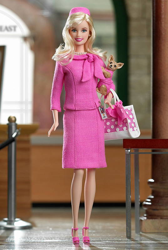 промо-фото Barbie Doll as Elle Woods from Legally Blonde 2