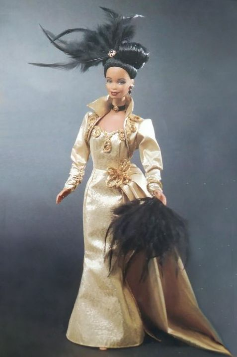 MGM Golden Hollywood African-American Barbie 1999