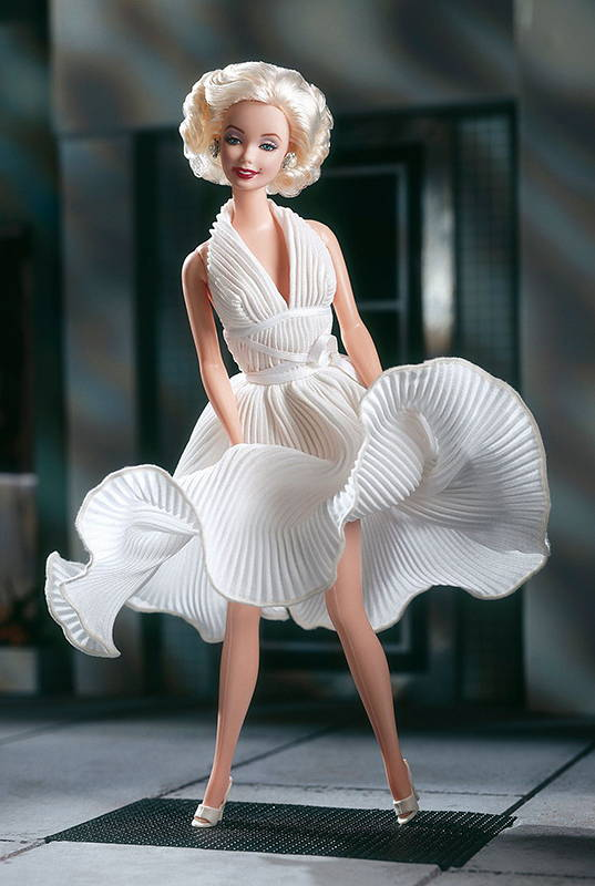 промо-фото Barbie as Marilyn in the White Dress from The Seven Year Itch