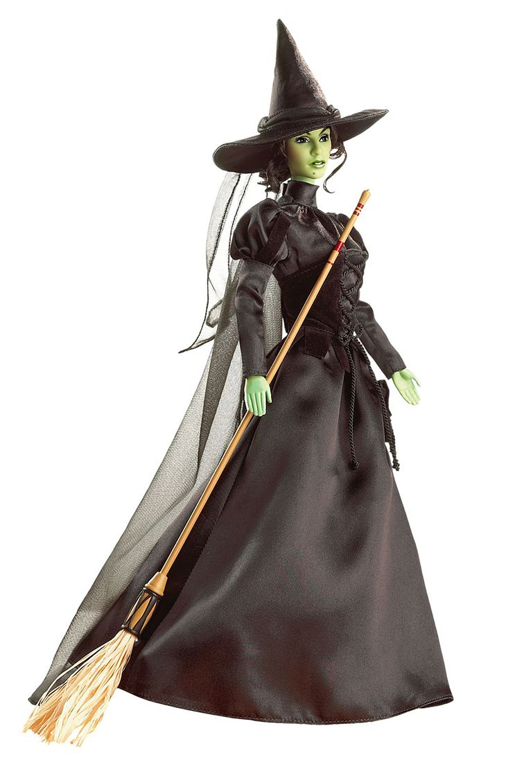 The Wizard of Oz Wicked Witch of the West Barbie 2007