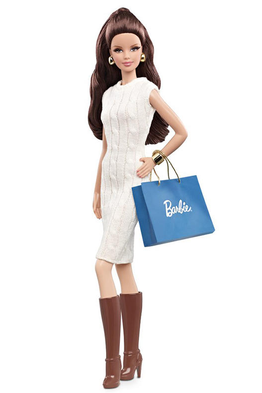 промо-фото City Shopper Brunette Barbie