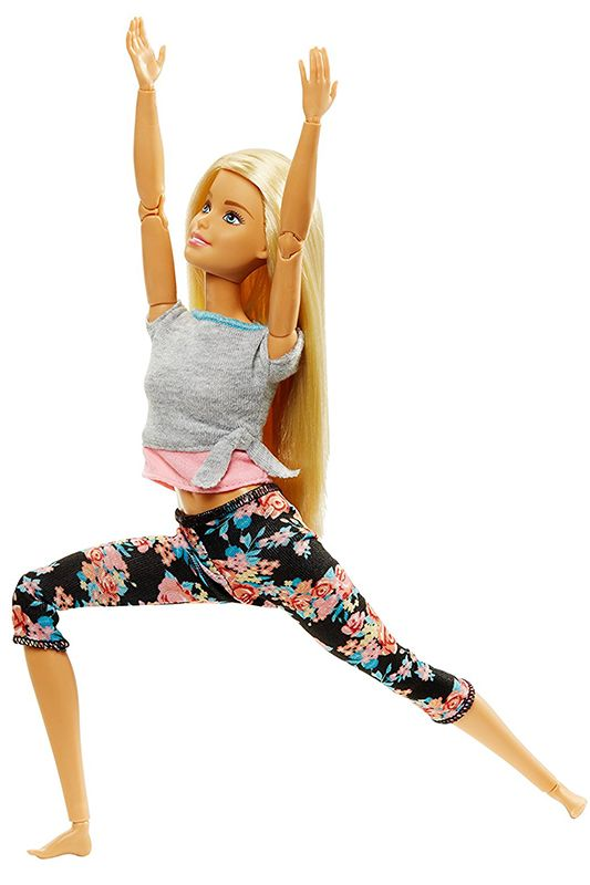 промо-фото Made to Move Yoga Barbie