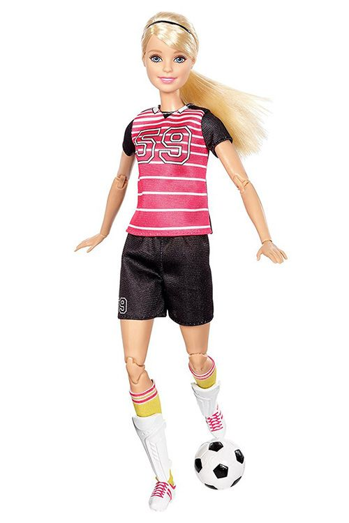 Made to Move Soccer Player Barbie