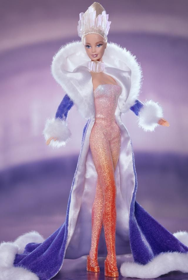 Fire and Ice Barbie 2001
