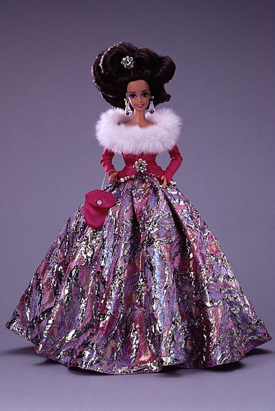 Starlight Waltz Brunette Barbie 1995
