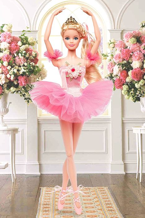 промо-фото Ballet Wishes Barbie Doll 2018