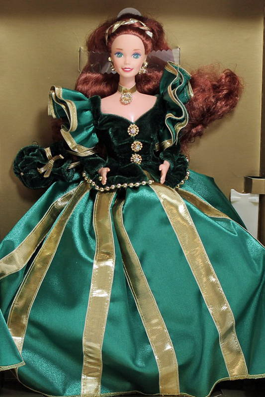 Evergreen Princess Redhead Barbie 1994