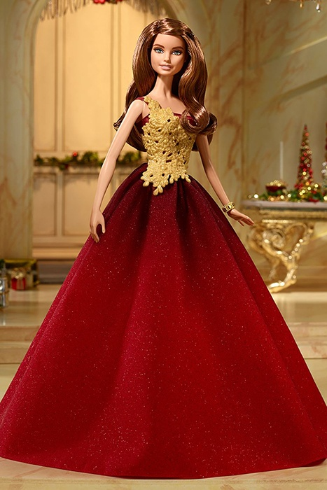 промо-фото Holiday Barbie 2016 - Red Gown