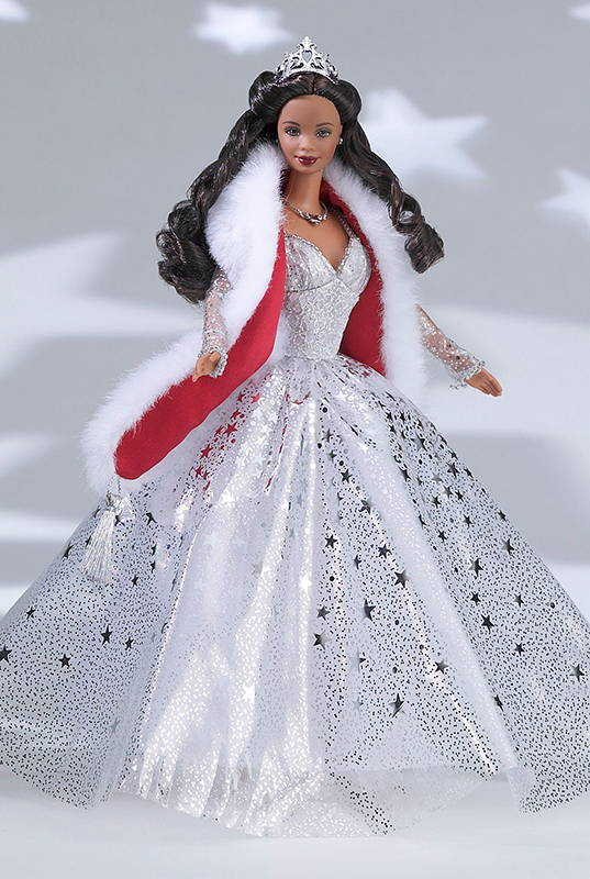 Holiday Celebration AA Barbie 2001