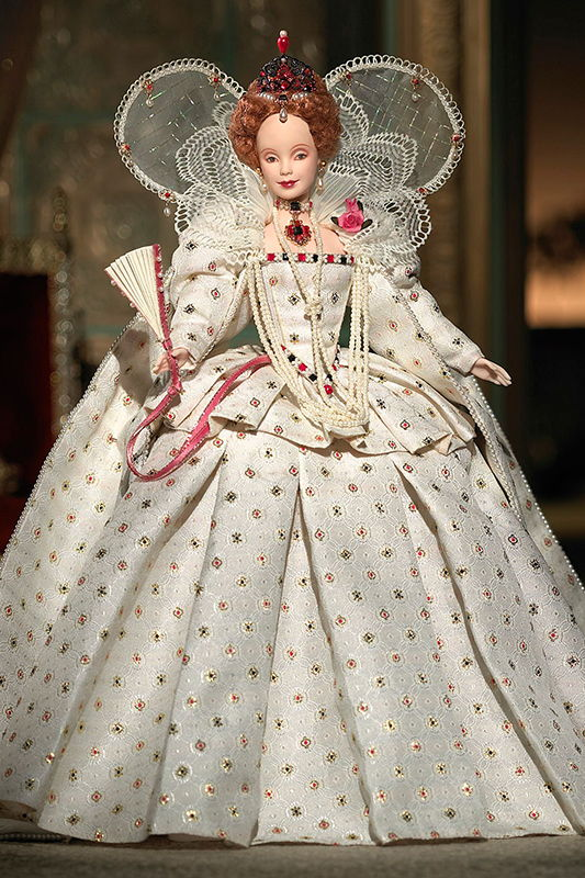 промо-фото Queen Elizabeth I Barbie